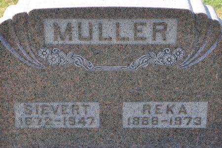 MULLER, REKA - Grundy County, Iowa   REKA MULLER