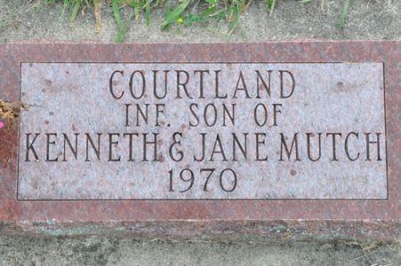 MUTCH, COURTLAND - Grundy County, Iowa | COURTLAND MUTCH