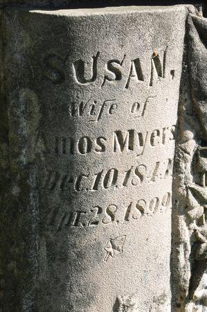 MYERS, SUSAN - Grundy County, Iowa   SUSAN MYERS