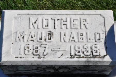 NABLO, MAUD - Grundy County, Iowa | MAUD NABLO