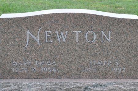 NEWTON, MARY EMMA - Grundy County, Iowa | MARY EMMA NEWTON