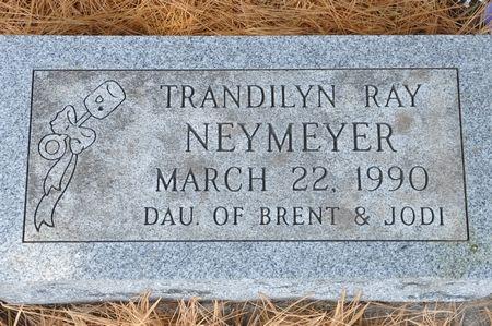 NEYMEYER, TRANDILYN RAY - Grundy County, Iowa   TRANDILYN RAY NEYMEYER