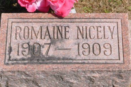 NICELY, ROMAINE - Grundy County, Iowa | ROMAINE NICELY