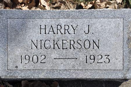 NICKERSON, HARRY J. - Grundy County, Iowa   HARRY J. NICKERSON