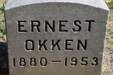 OKKEN, ERNEST - Grundy County, Iowa   ERNEST OKKEN