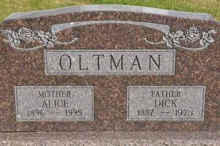 OLTMAN, DICK - Grundy County, Iowa | DICK OLTMAN