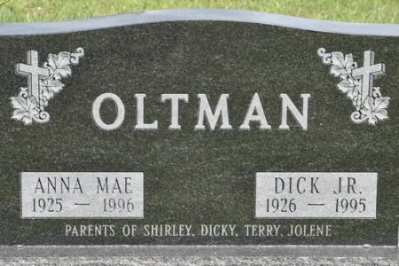 OLTMAN, DICK JR. - Grundy County, Iowa | DICK JR. OLTMAN