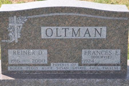 OLTMAN, REINER D. - Grundy County, Iowa | REINER D. OLTMAN