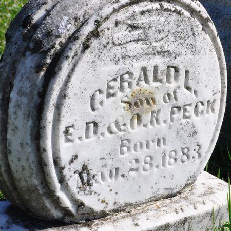 PECK, GERALD L. - Grundy County, Iowa | GERALD L. PECK