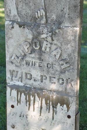 PECK, ZIPORAH - Grundy County, Iowa | ZIPORAH PECK