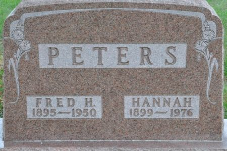 PETERS, FRED H. - Grundy County, Iowa | FRED H. PETERS