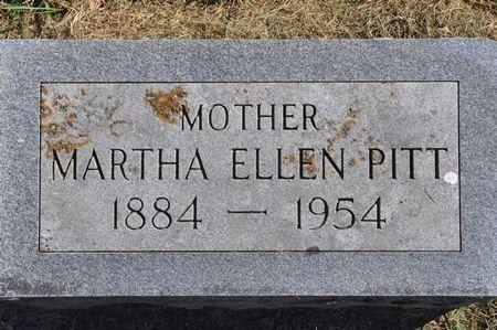 PITT, MARTHA ELLEN - Grundy County, Iowa   MARTHA ELLEN PITT