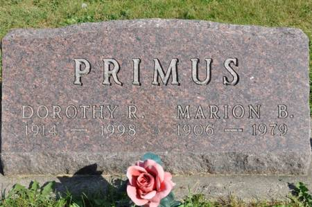 PRIMUS, MARION B. - Grundy County, Iowa | MARION B. PRIMUS