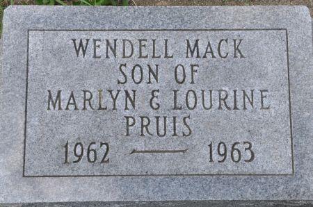 PRUIS, WENDELL MACK - Grundy County, Iowa | WENDELL MACK PRUIS