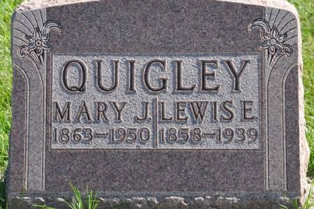 QUIGLEY, MARY J. - Grundy County, Iowa | MARY J. QUIGLEY