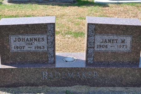 RADEMAKER, JOHANNES - Grundy County, Iowa | JOHANNES RADEMAKER