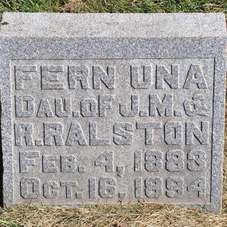 RALSTON, FERN UNA - Grundy County, Iowa | FERN UNA RALSTON