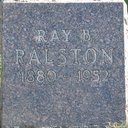 RALSTON, RAY B. - Grundy County, Iowa | RAY B. RALSTON