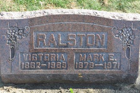 RALSTON, VICTORIA - Grundy County, Iowa   VICTORIA RALSTON