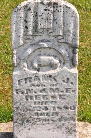 REESE, FRANK J. - Grundy County, Iowa | FRANK J. REESE