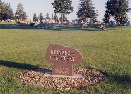 REINBECK, CEMETERY - Grundy County, Iowa | CEMETERY REINBECK