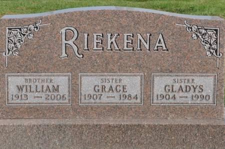 RIEKENA, GLADYS - Grundy County, Iowa | GLADYS RIEKENA