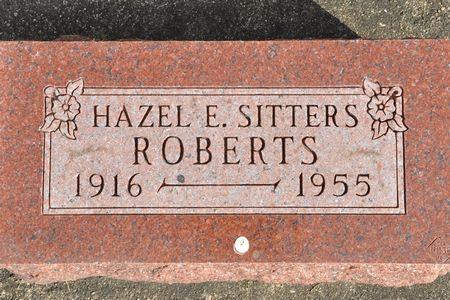 ROBERTS, HAZEL E. (SITTERS) - Grundy County, Iowa   HAZEL E. (SITTERS) ROBERTS