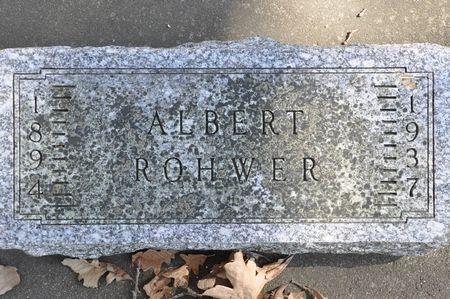 ROHWER, ALBERT - Grundy County, Iowa | ALBERT ROHWER