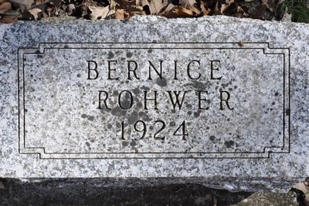 ROHWER, BERNICE - Grundy County, Iowa | BERNICE ROHWER