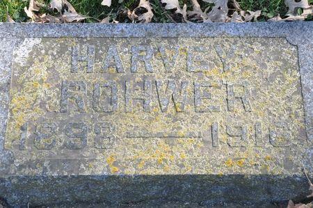 ROHWER, HARVEY - Grundy County, Iowa | HARVEY ROHWER