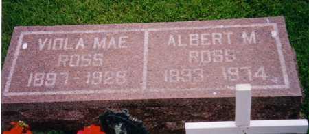 ROSS, ALBERT M. - Grundy County, Iowa | ALBERT M. ROSS