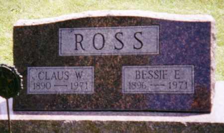 ROSS, BESSIE E. - Grundy County, Iowa | BESSIE E. ROSS