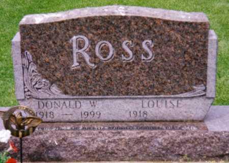 ROSS, DONALD W. - Grundy County, Iowa | DONALD W. ROSS