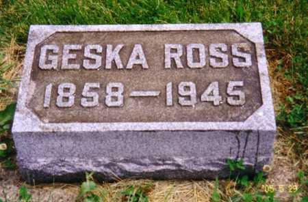 ROSS, GESKE (MARY W.) - Grundy County, Iowa | GESKE (MARY W.) ROSS
