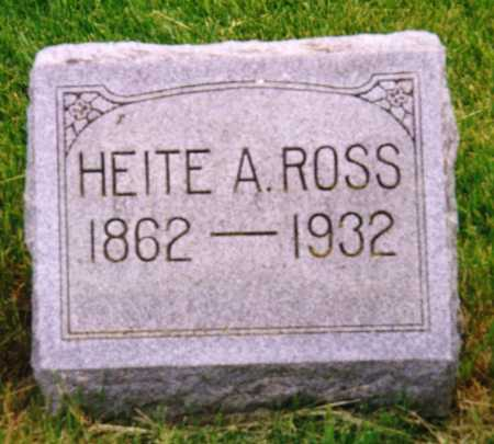 ROSS, HEITE A. - Grundy County, Iowa | HEITE A. ROSS