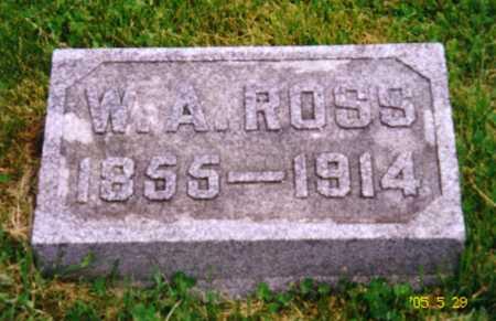 ROSS, WILLIAM A. - Grundy County, Iowa | WILLIAM A. ROSS
