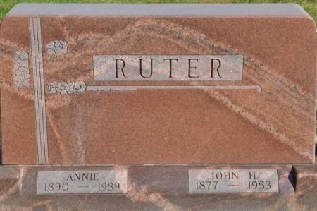 RUTER, JOHN H. - Grundy County, Iowa | JOHN H. RUTER