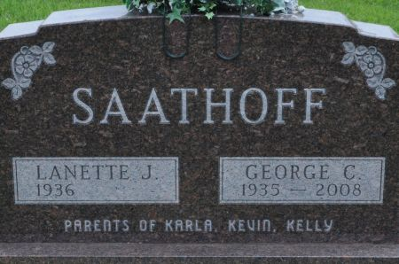 SAATHOFF, GEORGE C. - Grundy County, Iowa | GEORGE C. SAATHOFF