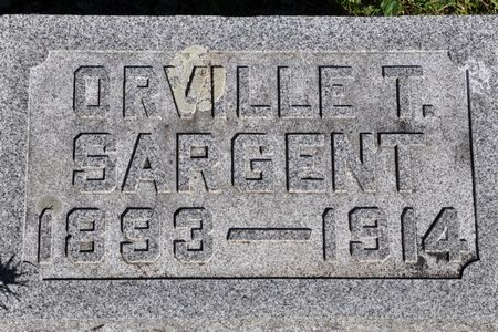 SARGENT, ORVILLE T. - Grundy County, Iowa | ORVILLE T. SARGENT