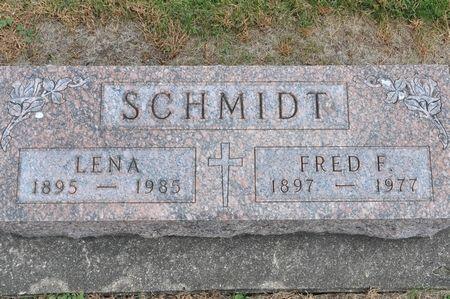 SCHMIDT, LENA - Grundy County, Iowa   LENA SCHMIDT