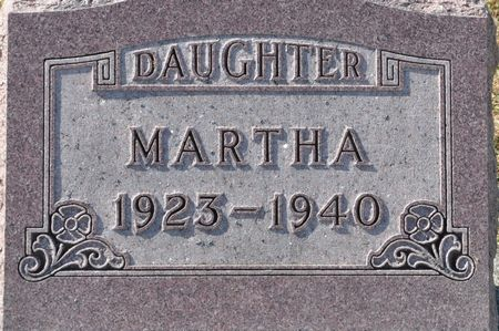 SCHMIDT, MARTHA - Grundy County, Iowa | MARTHA SCHMIDT