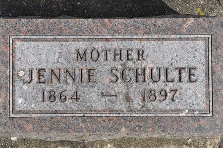 SCHULTE, JENNIE - Grundy County, Iowa | JENNIE SCHULTE