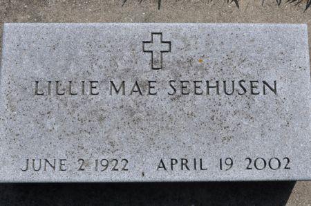 SEEHUSEN, LILLIE MAE - Grundy County, Iowa | LILLIE MAE SEEHUSEN