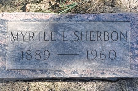 SHERBON, MYRTLE E. - Grundy County, Iowa | MYRTLE E. SHERBON
