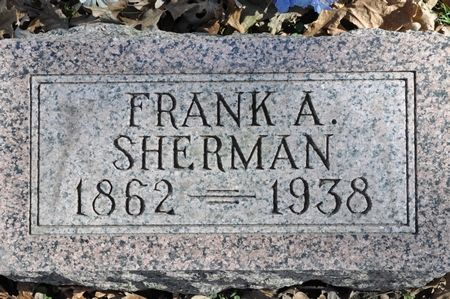 SHERMAN, FRANK A. - Grundy County, Iowa   FRANK A. SHERMAN
