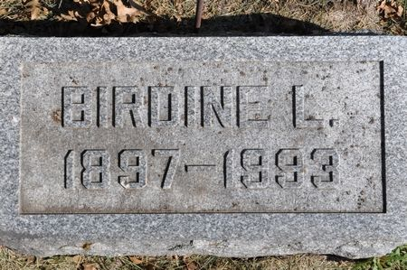 SHIRK, BIRDINE L. - Grundy County, Iowa | BIRDINE L. SHIRK