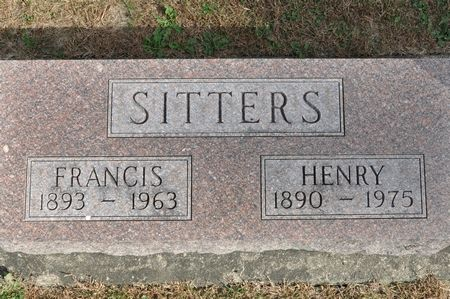 SITTERS, HENRY - Grundy County, Iowa   HENRY SITTERS