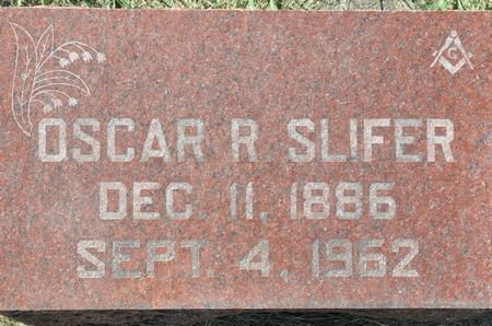 SLIFER, OSCAR R. - Grundy County, Iowa | OSCAR R. SLIFER