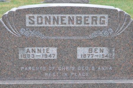 SONNENBERG, BEN - Grundy County, Iowa | BEN SONNENBERG
