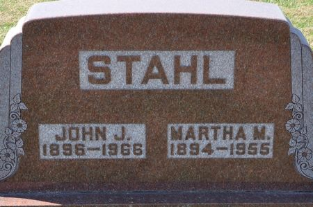 STAHL, MARTHA M. - Grundy County, Iowa | MARTHA M. STAHL